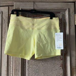 lululemon athletica Shorts - Lululemon Groove Short az 10 yellow